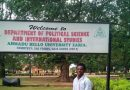 The Prestigious ABU Zaria Department of Political Science and Int'l Studies