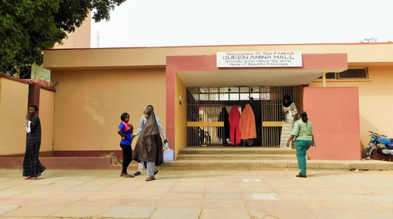 Prestigious Queen Amina hostel; the home of Queens 6