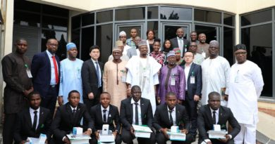 FLASHBACK: How NITDA honored ABU Students for excelling at the GLOBAL HUAWEI ICT COMPETITION Finals in China 4