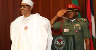 Col. Mohammed Abubakar: The Gallant Abusite 'behind' president Mohammadu Buhari 5
