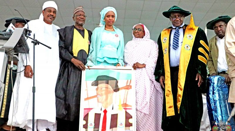 Dr Yusufu Bala Usman: FUK honored late icon with a Posthumous Doctor of Letters (Honoris Causa) 1