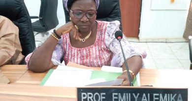 Inspirational Prof Emily Alemika: Kogi's First female Professor of Law. 4