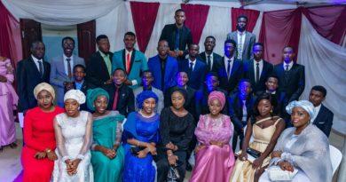 NICE PHOTOS: ABU Archi Class of 2019 Final year Dinner 5