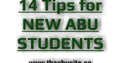 14 Best Tips every New ABU Student should know 7