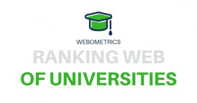 Webometrics Ranking 2019: Top 100 Institutions in Nigeria based on web Presence, Visibility, and Access 7