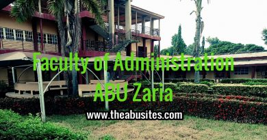 ABU Postgraduate Admission Requirements - Faculty of Administration 6