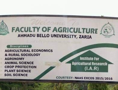 ABU PG Courses and Admission Criteria for Faculty of Agriculture 2019/2020