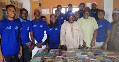 International Day of Education 2020: JCIN ABU Zaria, Visit Schools, Donate Books 5