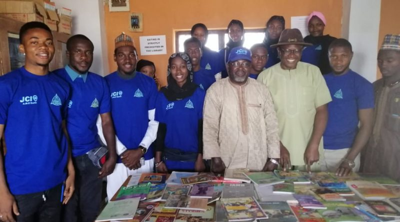 International Day of Education 2020: JCIN ABU Zaria, Visit Schools, Donate Books 7
