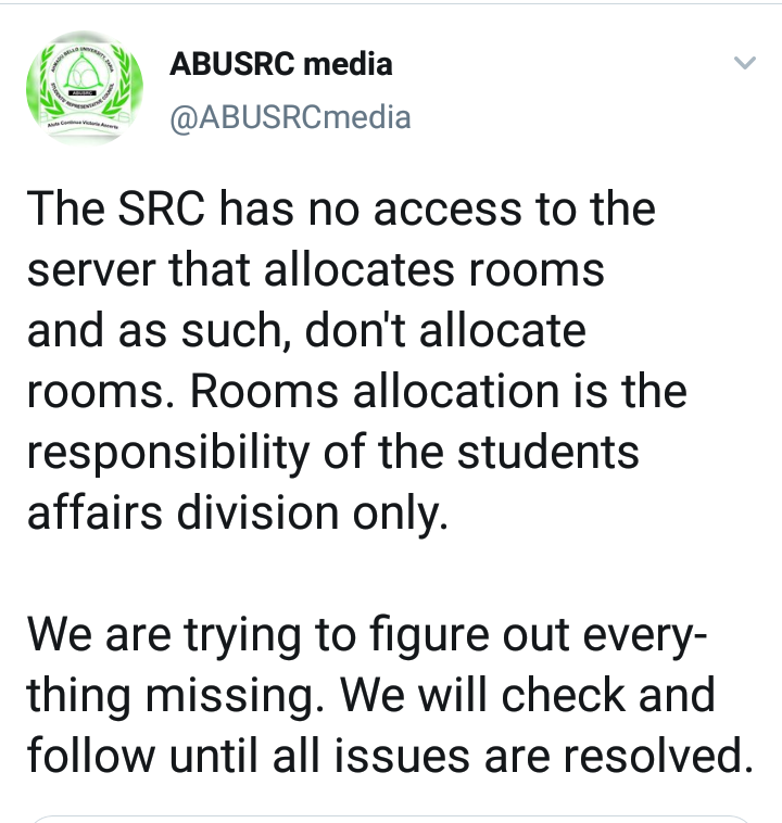 Male Students outraged with the Process - Abu campus connect