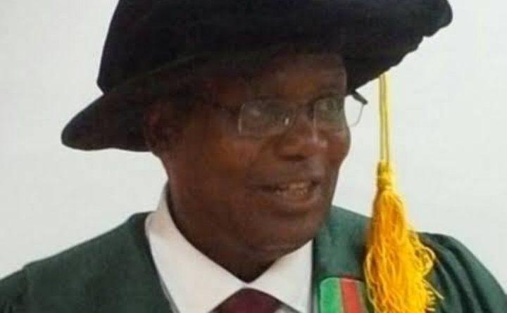 Professor Jarlath Umoh: The 11th Head (Acting VC) of ABU Zaria 1