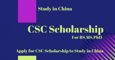 List of 279 Chinese Universities Offering Chinese Government Scholarship 5