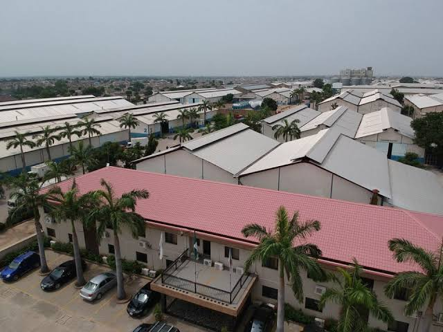 Sharada Industrial Estate in Kano set up by Professor Aminu Mohammed Dorayi