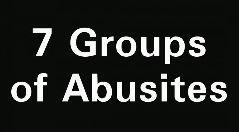 Top 7 Groups of Abusites you will always meet in ABU 10
