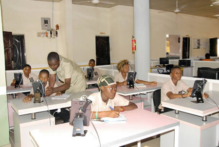 Tanimu Foundation Students in the science training program