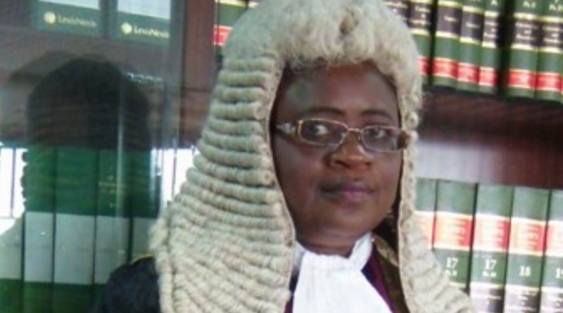 Justice Monica Dongban-Mensem: The New President, Court of Appeal 1