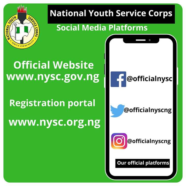 Step by Step Guide to NYSC 2020 Batch A Registration