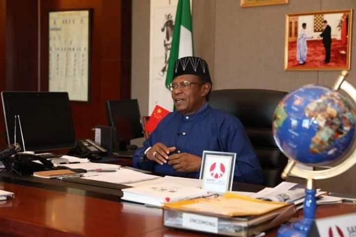 Ambassador Baba Ahmad Jidda