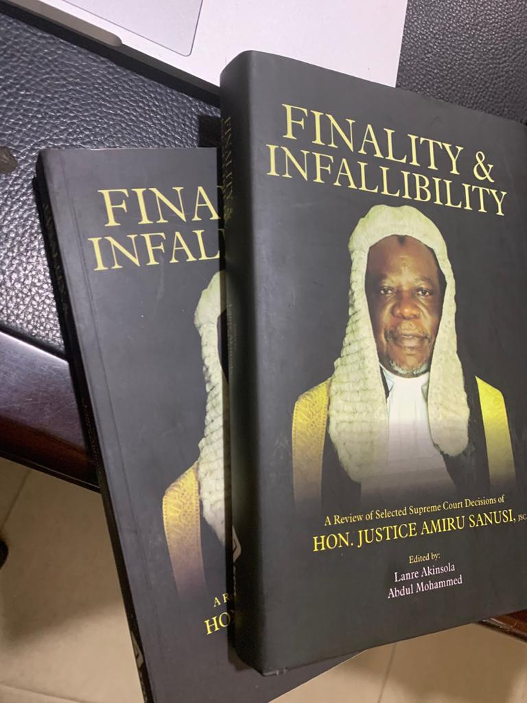 Justice Amiru Sanusi Launch Book Titled: Finality And Infallibility