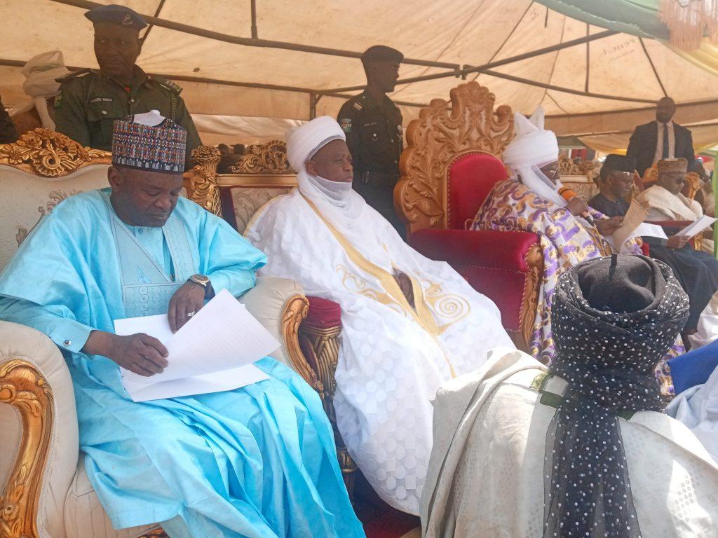 Emir of Zazzau -Home of ABU Marks 45th Anniversary 2