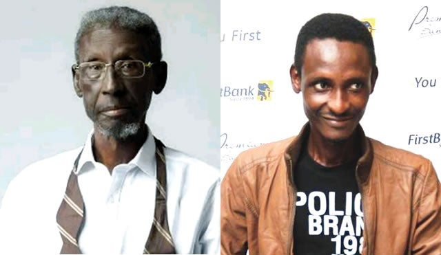 Sadiq Daba (left) and Son, Abdukadiri Daba