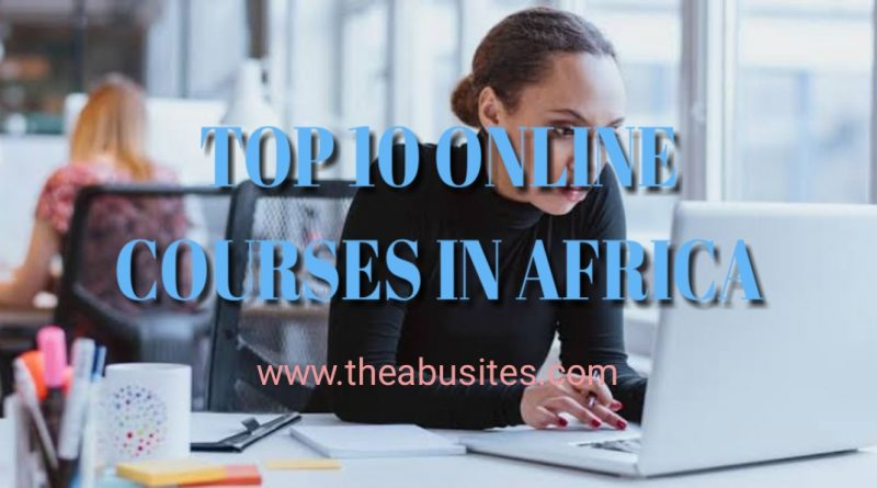 TOP 10 MOST POPULAR ONLINE COURSES IN AFRICA 3