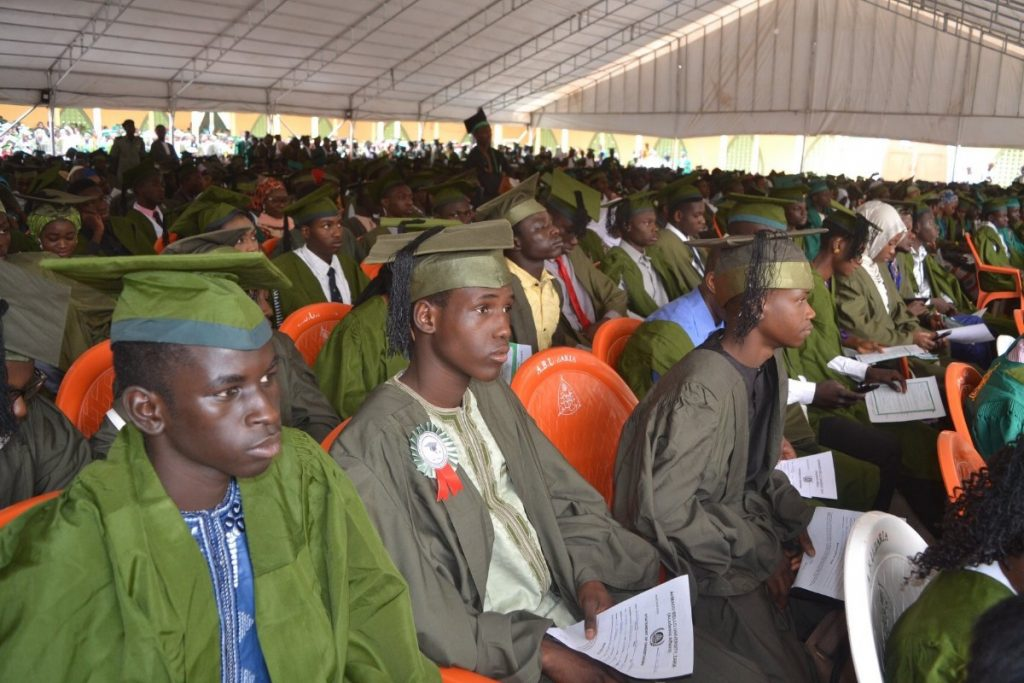 ABU Matriculates 10,000 Students