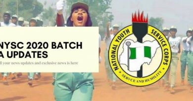 APPROVED NYSC 2020 BATCH 'A' MOBILIZATION TIME-TABLE 6