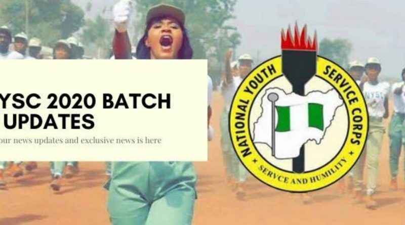 APPROVED NYSC 2020 BATCH 'A' MOBILIZATION TIME-TABLE 1