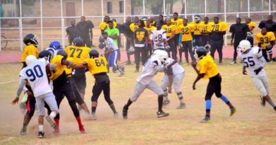 ABU Titans: The First American Football Team in West Africa. 4