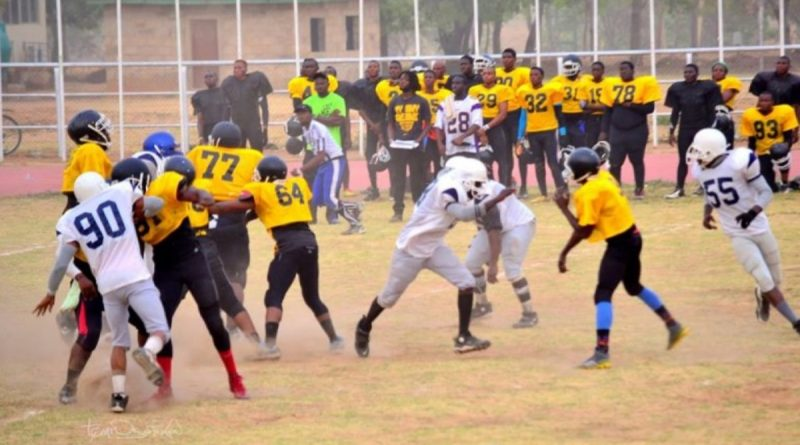 ABU Titans: The First American Football Team in West Africa. 1