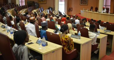 [Photos] ABU Students Hosted By Ecowas, Ministry of Foreign Affairs. 4