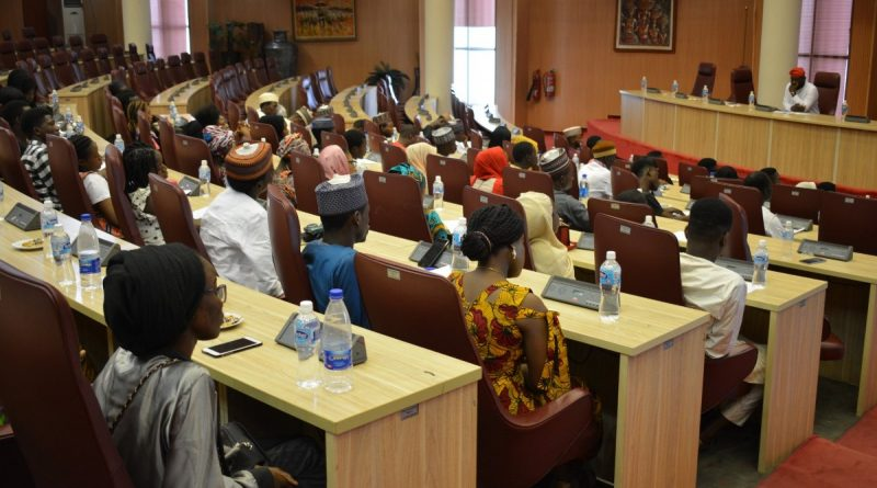 [Photos] ABU Students Hosted By Ecowas, Ministry of Foreign Affairs. 1
