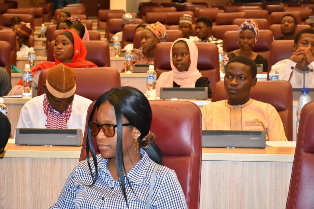 [Photos] ABU Students Hosted By Ecowas, Ministry of Foreign Affairs. 2