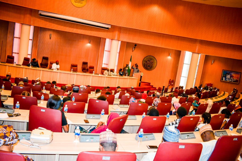 Abu students hosted by the Ecowas, the Ecowas Parliament and the ministry of foreign affairs