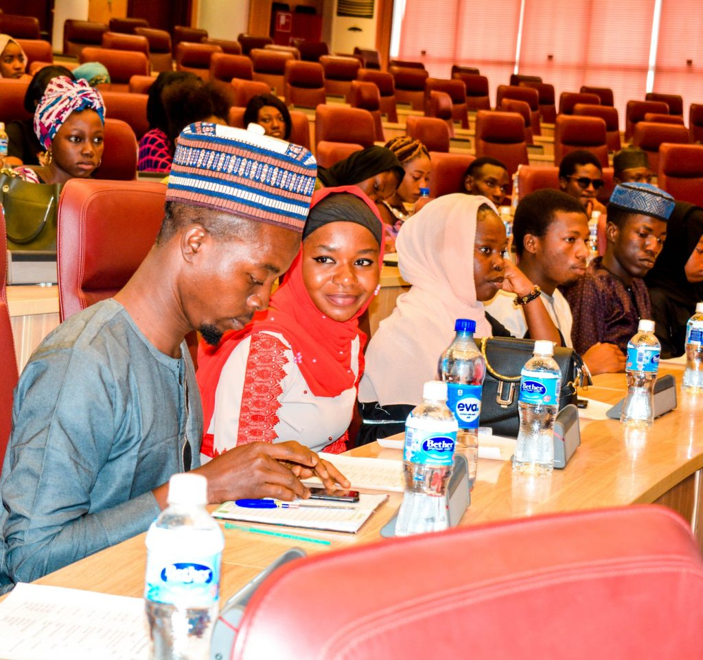 [Photos] ABU Students Hosted By Ecowas, Ministry of Foreign Affairs. 3