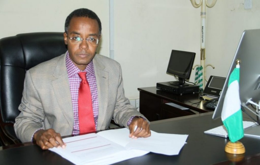 Dr Sani Aliyu: National Coordinator, Task Force for the Control of COVID–19