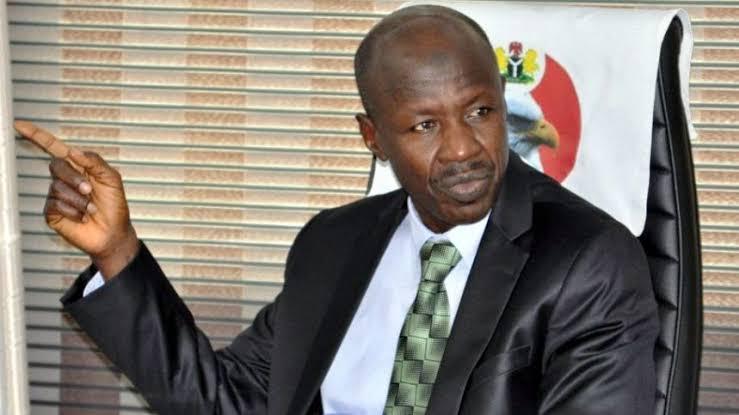 The EFCC acting Chairman, Ibrahim Magu,