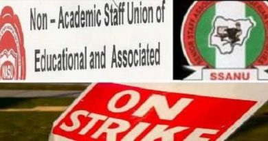 NASU Gives Notice For Indefinite Strike