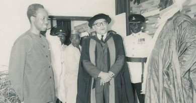 Prof Norman Alexander: The  1st Vice Chancellor, Ahmadu Bello University Zaria. 6