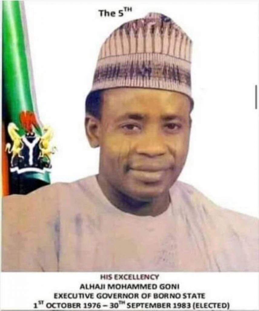 Mohammed Goni: First Civilian Governor of Borno State is Dead