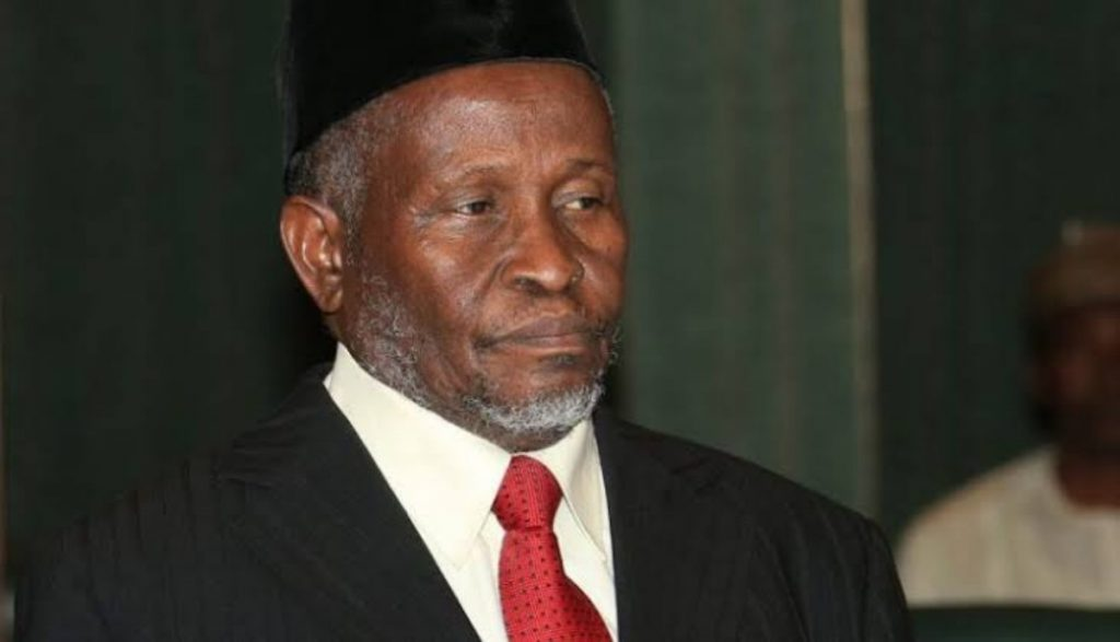 Hon. Justice Ibrahim Tanko Muhammad CFR. Justices of the Supreme Court of Nigeria