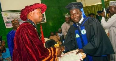 Dr Yusuf Mamman: Best Graduating Student Veterinary Medicine Abu 2019 4