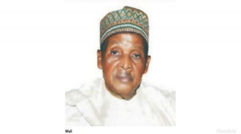 Pharm Dahiru Suleiman Wali (1935-2020): An Icon Of Community Pharmacy Practice In Nigeria 1