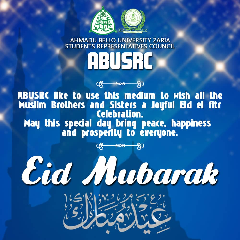 ABUSRC President's eid-ul-fitr message