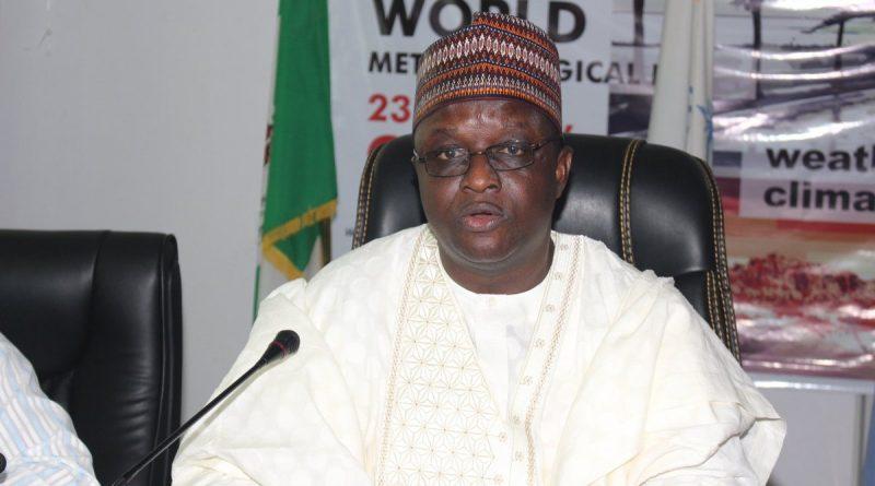 Prof Sani Abubakar Mashi: DG/CEO Nigerian Meteorological Agency - NIMET 1