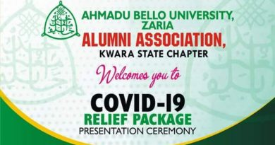 Covid -19: Kwara ABU Alumni distributes palliatives to 100 households 4