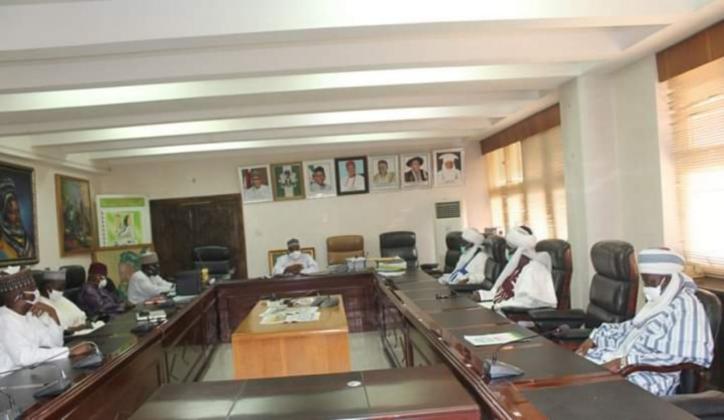 Zazzau Emirate Council visit ABU Vice-Chancellor