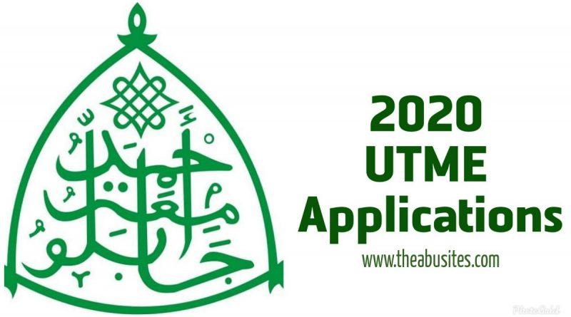 2020 UTME Applications: ABU in 2nd as UNILORIN, KADPOLY, FCE Zaria tops list. 1