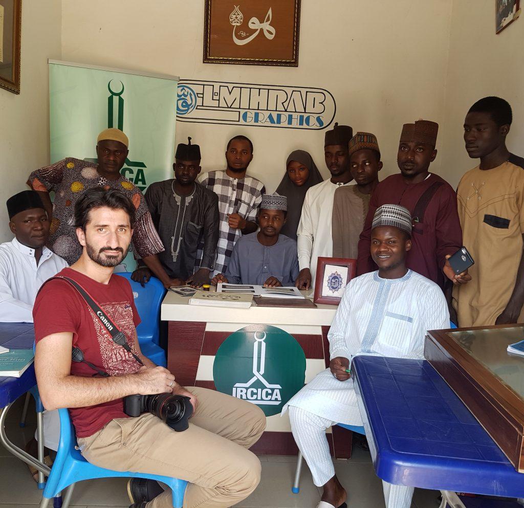 calligrapher's art training center by Yusha Abdullah
